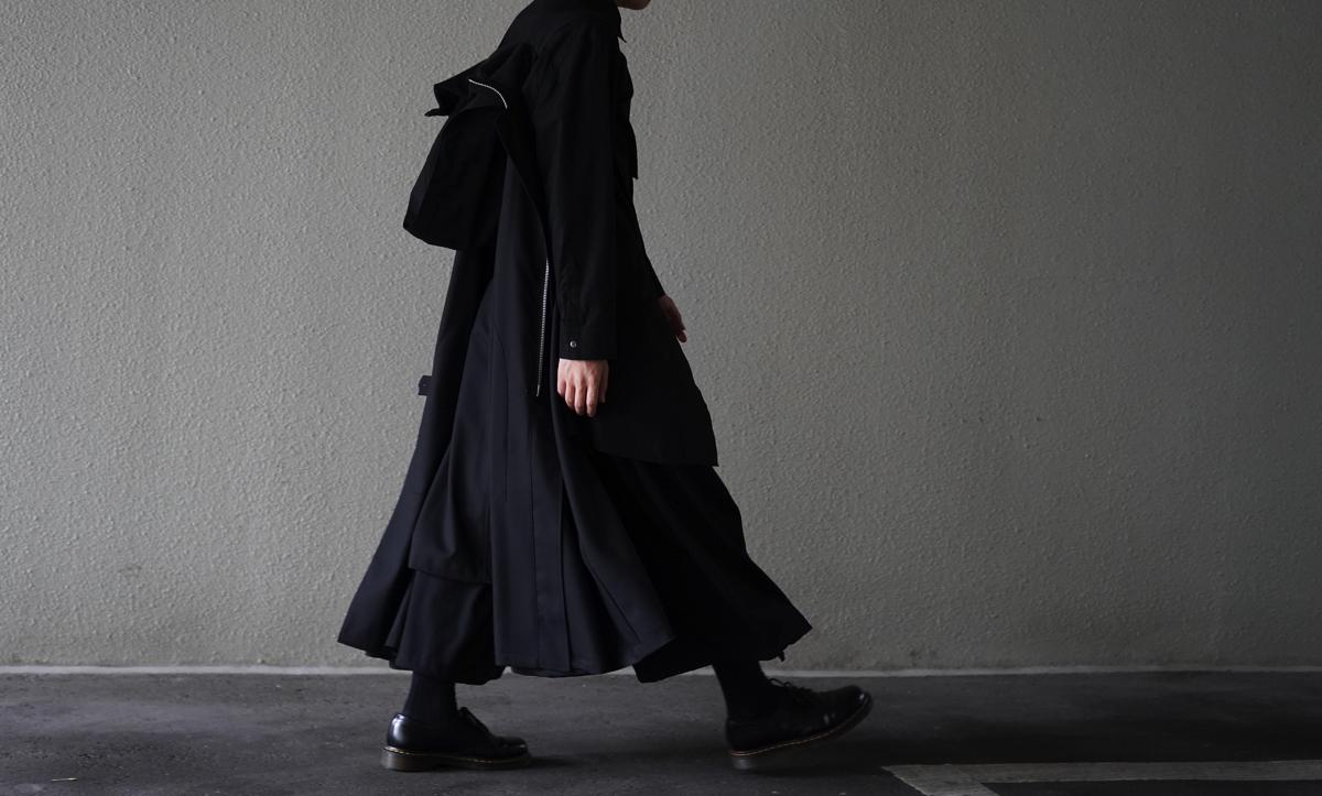 Ground Y Carry Cloak