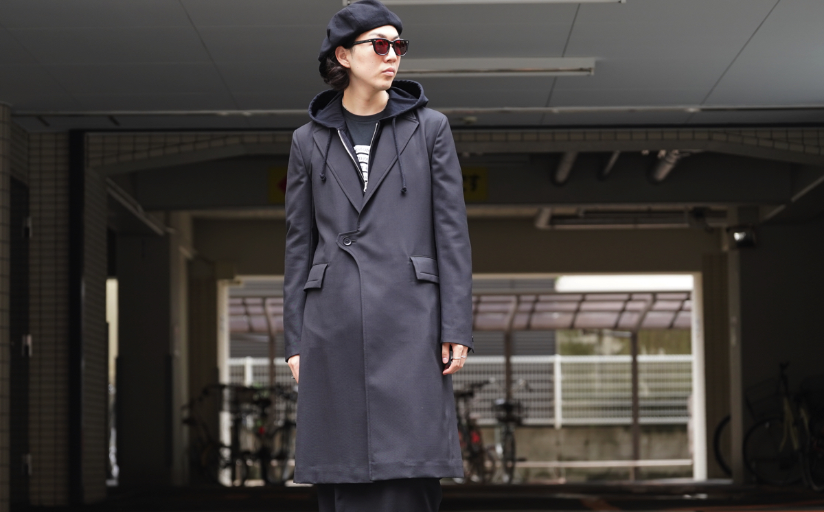 Ground Y Tab Coat