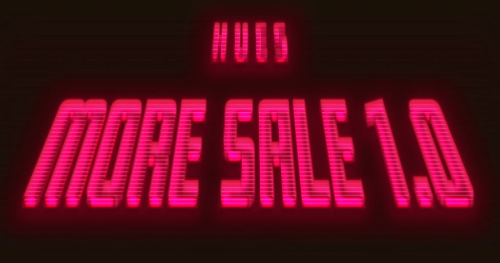 HUES MORE SALE 1.0 START !!!