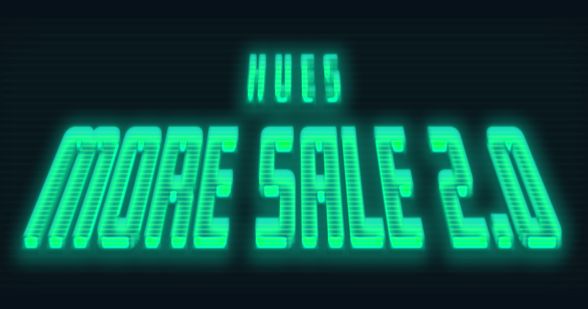 HUES MORE SALE 2.0 START !!!