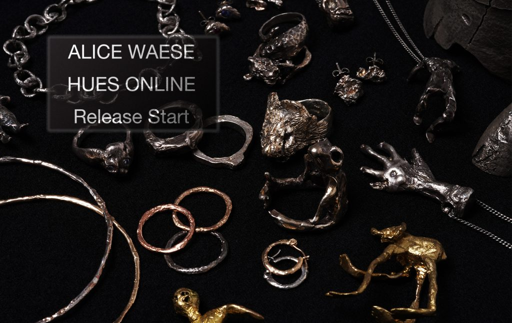 ALICE WAESE ONLINE SHOP RELEASE START!!!