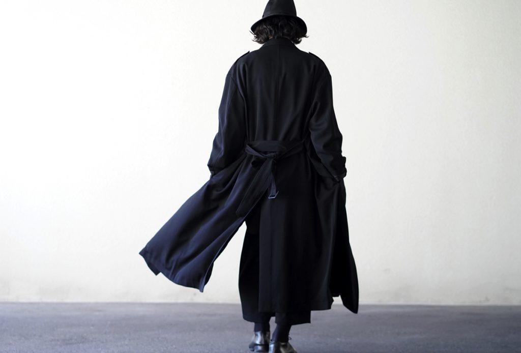 YOHJI YAMAMOTO Badge Stretch Coat