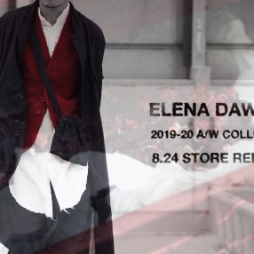 ELENA DAWSON  2019-20 Autumn&Winter Collection 8.24 store release