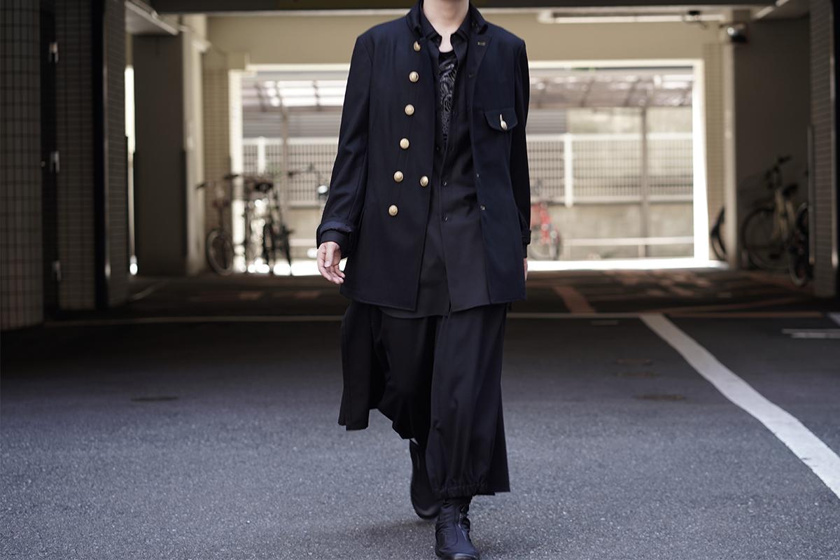 YOHJI YAMAMOTO Gold Button Double Jacket