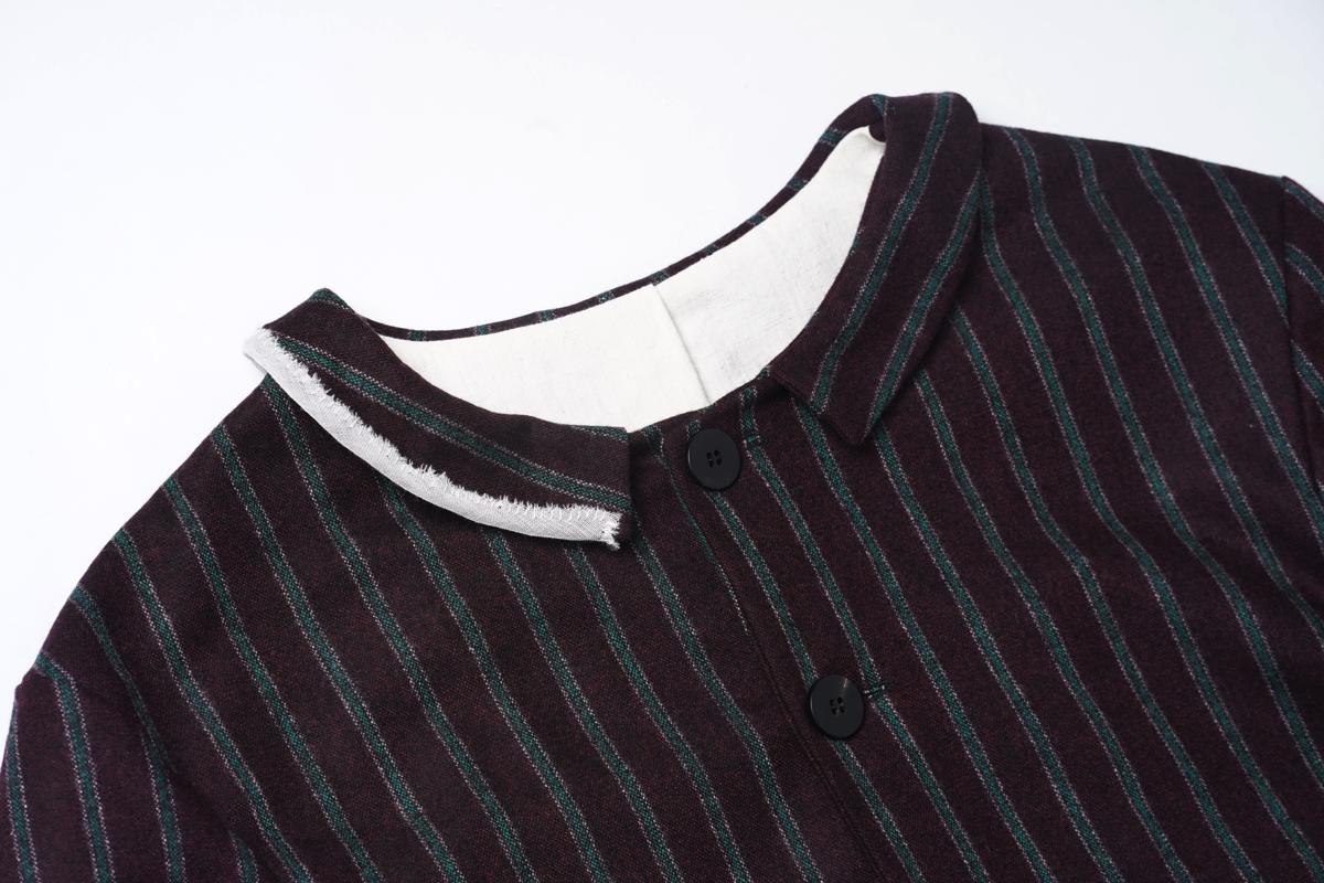 MARIA TURRI Stripe Jacket