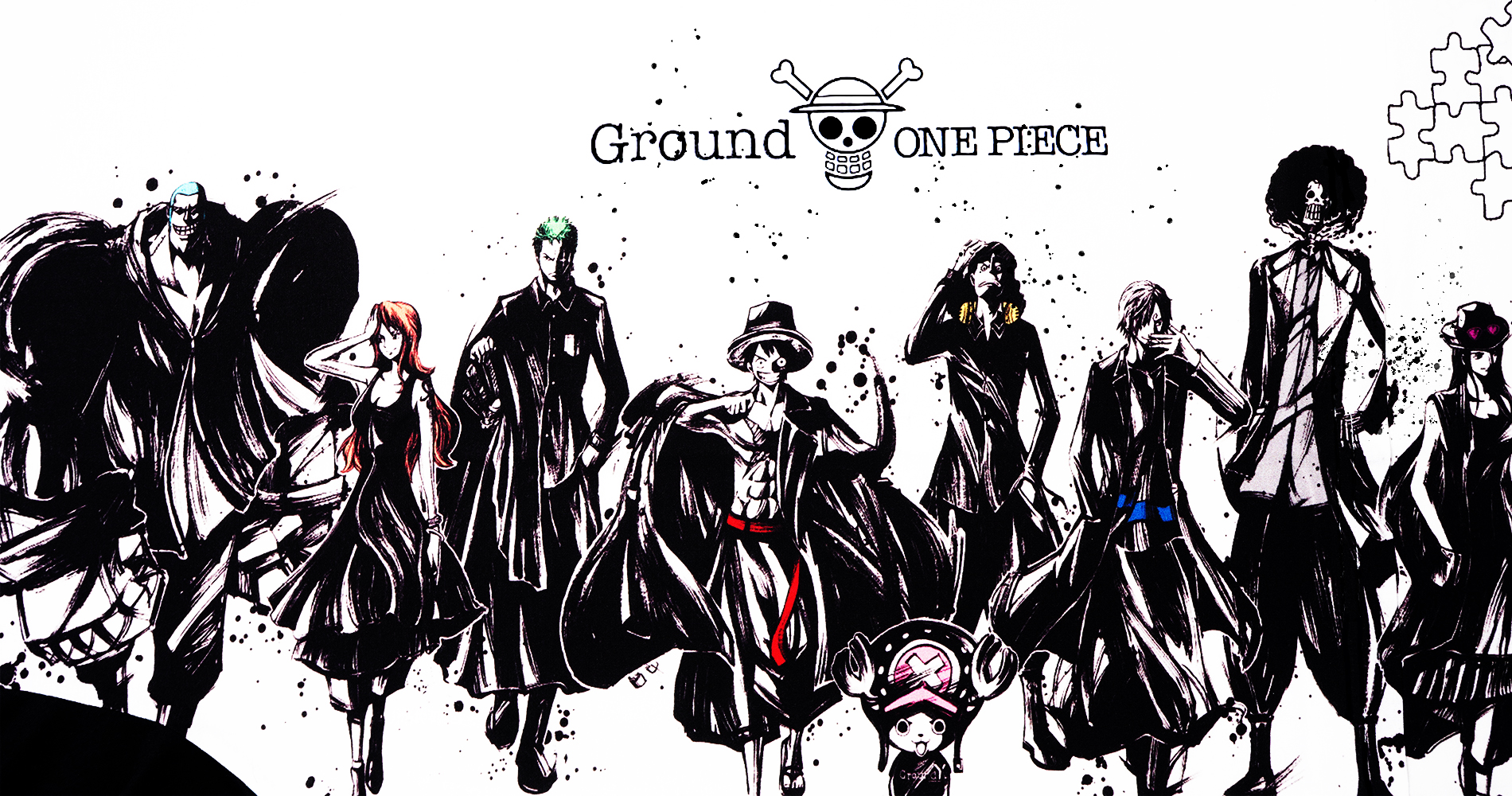 Ground Y×ONE PIECE 20th Anniversary Collection
