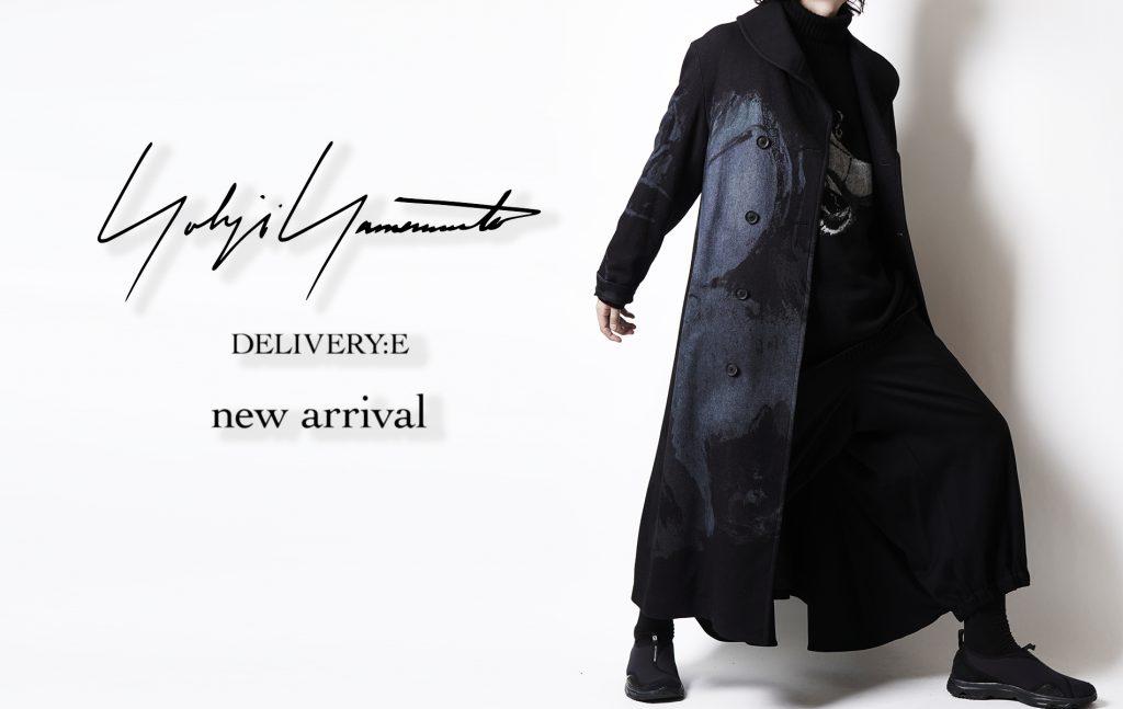YOHJI YAMAMOTO New Delivery Release Start !!!