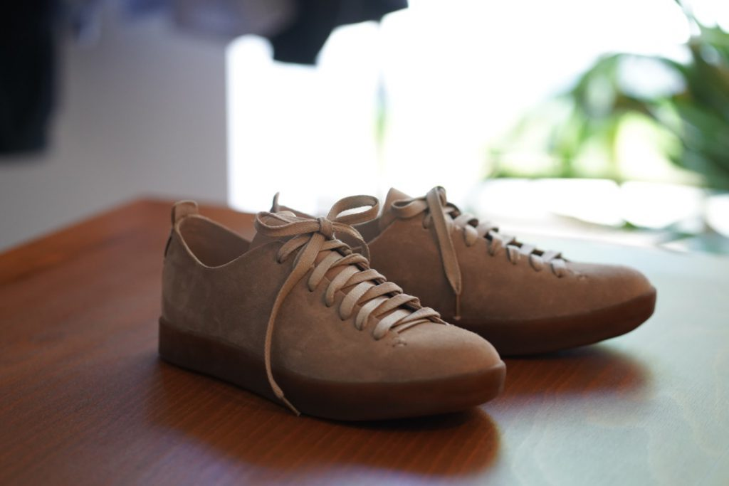 FEIT Hand Sewn Low Suede Latex