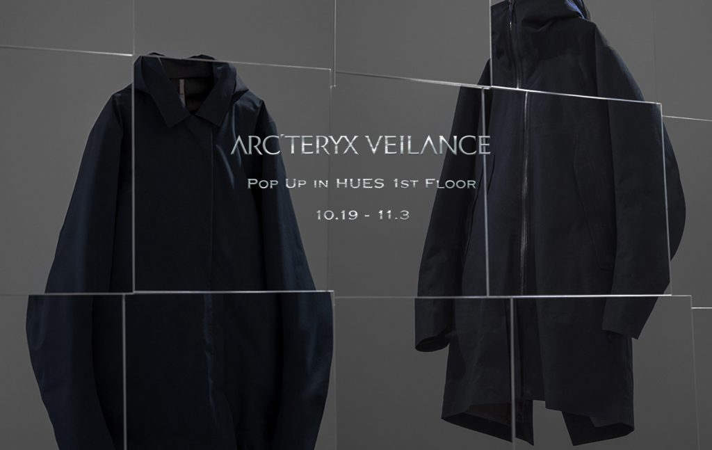ARC'TERYX VEILANCE POP UP STORE START