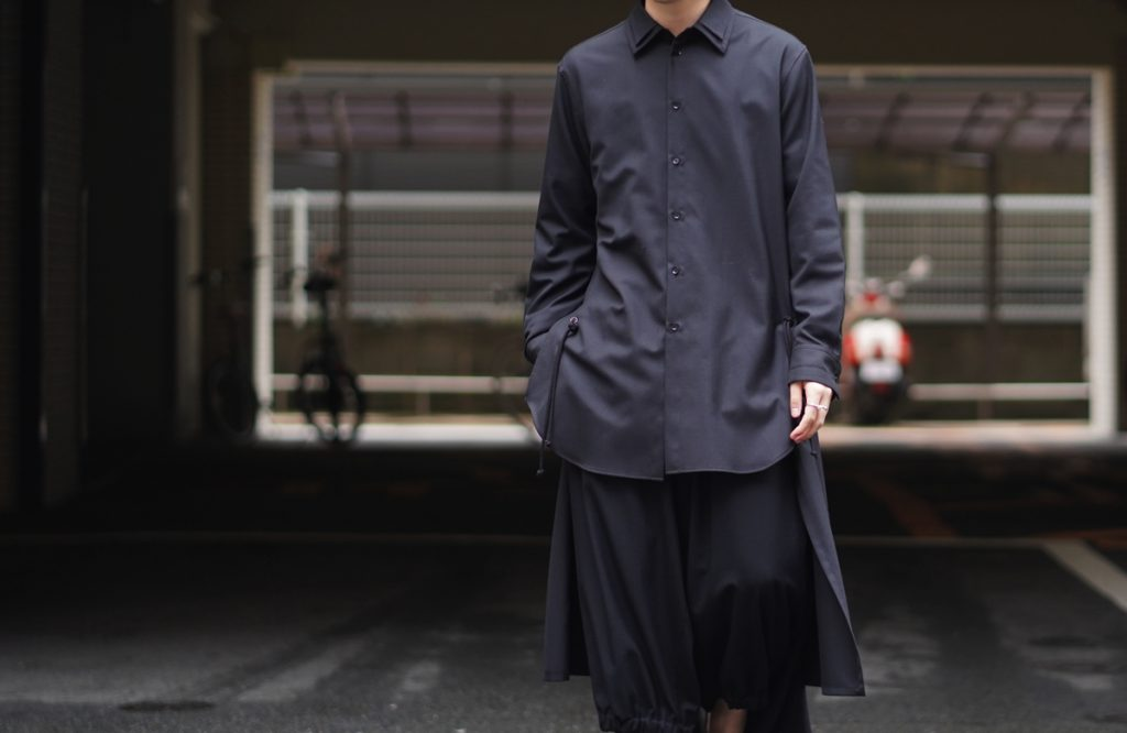 Ground Y Back Long Shirt