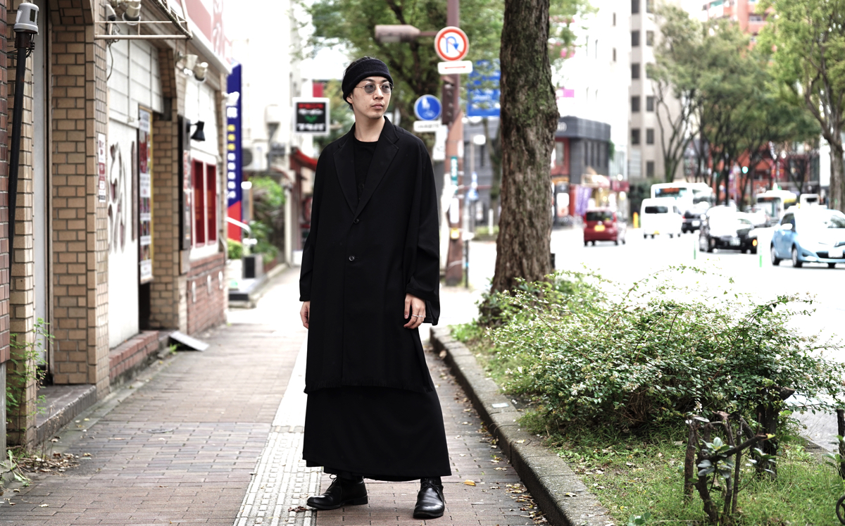 B YOHJI YAMAMOTO Fringe Stole Jacket