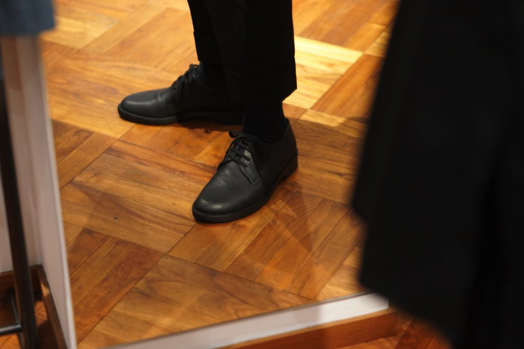 ANN DEMEULEMEESTER Shoes Vitello Olio Nero