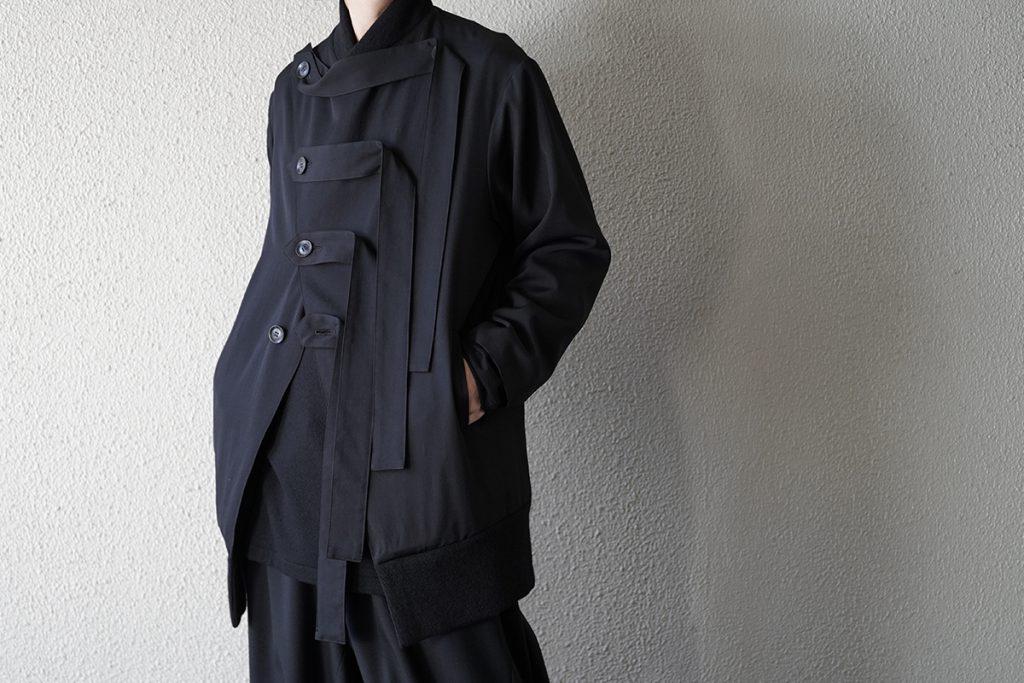 B YOHJI YAMAMOTO Rib Button Jacket