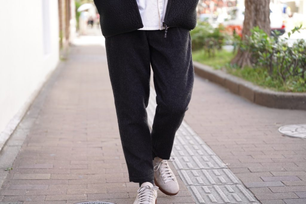 Porter Classic  Wool&Gauze  Cropped Pants