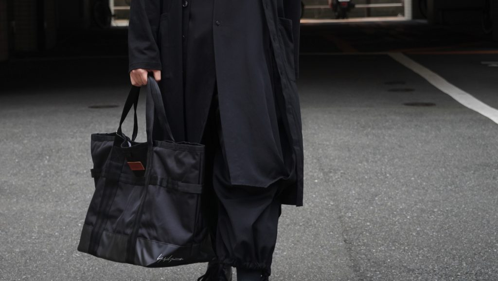 YOHJI YAMAMOTO × NEW ERA Tote Bag L