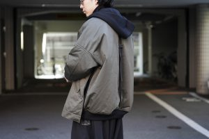 B YOHJI YAMAMOTO Hooded Zip Up Blouson
