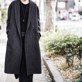 ANN DEMEULEMEESTER Coat Herring