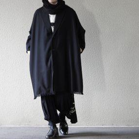 YOHJI YAMAMOTO Wool Stone Knit Snood