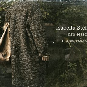 Isabella Stefanelli  2019-20Autumn&Winter Collection 11.9 store release