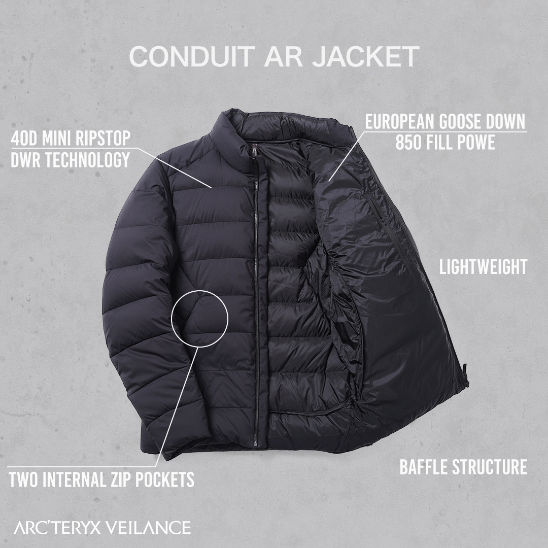 ARC'TERYX VEILANCE    Conduit AR Jacket