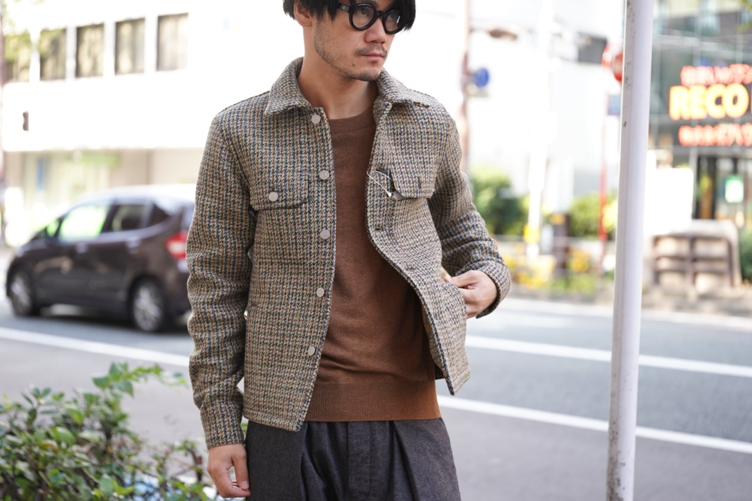 Maison Margiela   Double Tweed Jacket