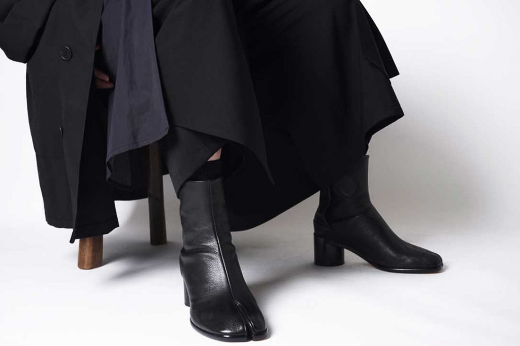 Maison Margiela  Tabi Heel Boots