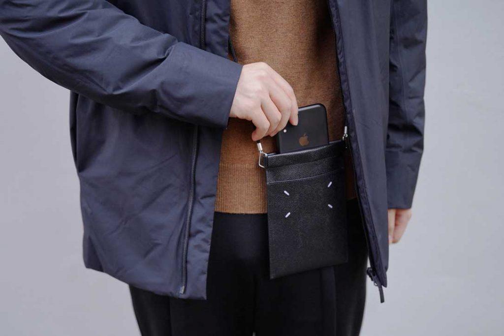 MAISON MARGIELA Leather Document Holder