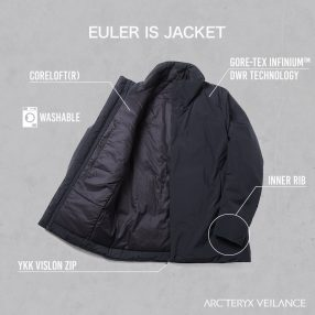 ARC'TERYX VEILANCE   Euler IS Jacket