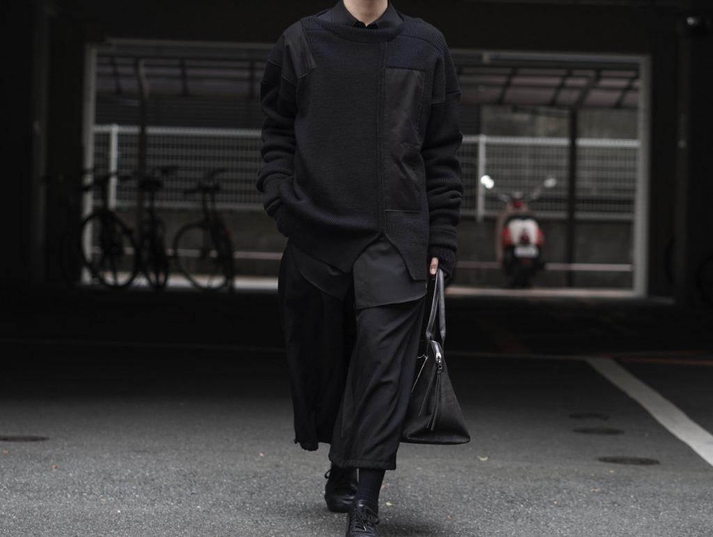 YOHJI YAMAMOTO Patchwork Knit