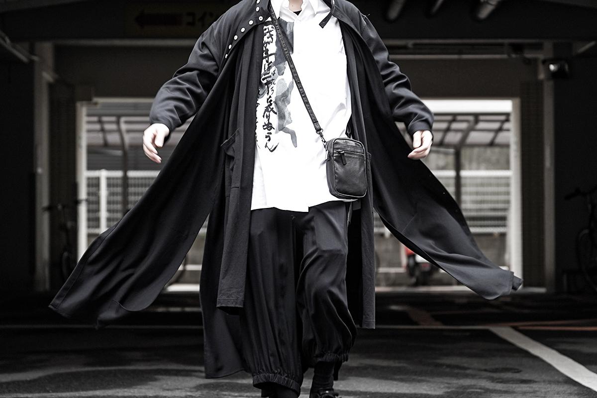 YOHJI YAMAMOTO 20SS Mulch Shoulder Bag