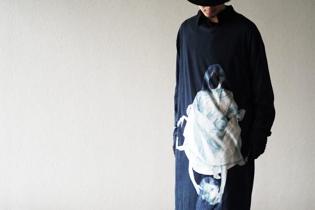 YOHJI YAMAMOTO 20SS UCHIDA Print Cut&Sew 3type
