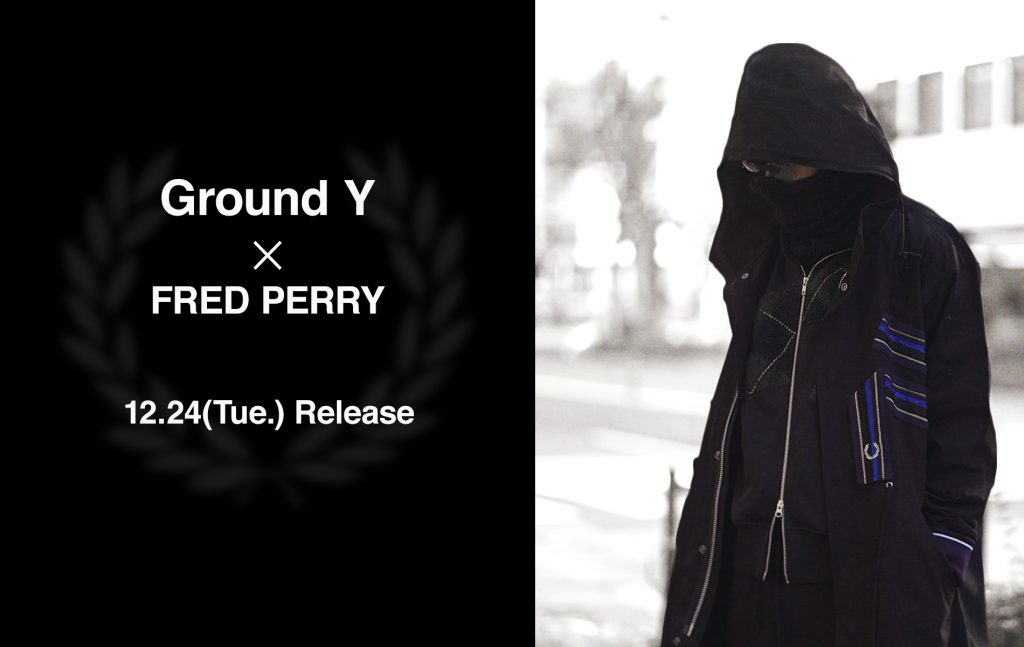 Ground Y ☓ FRED PERRY 2020 Spring/Summer Pre Collection