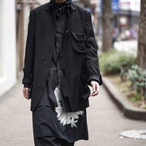 YOHJI YAMAMOTO 20SS Flap Pocket Jacket