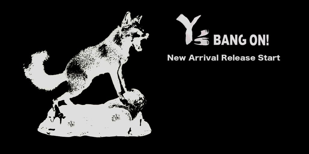 Y's BANG ON ! New Collection Release Start !