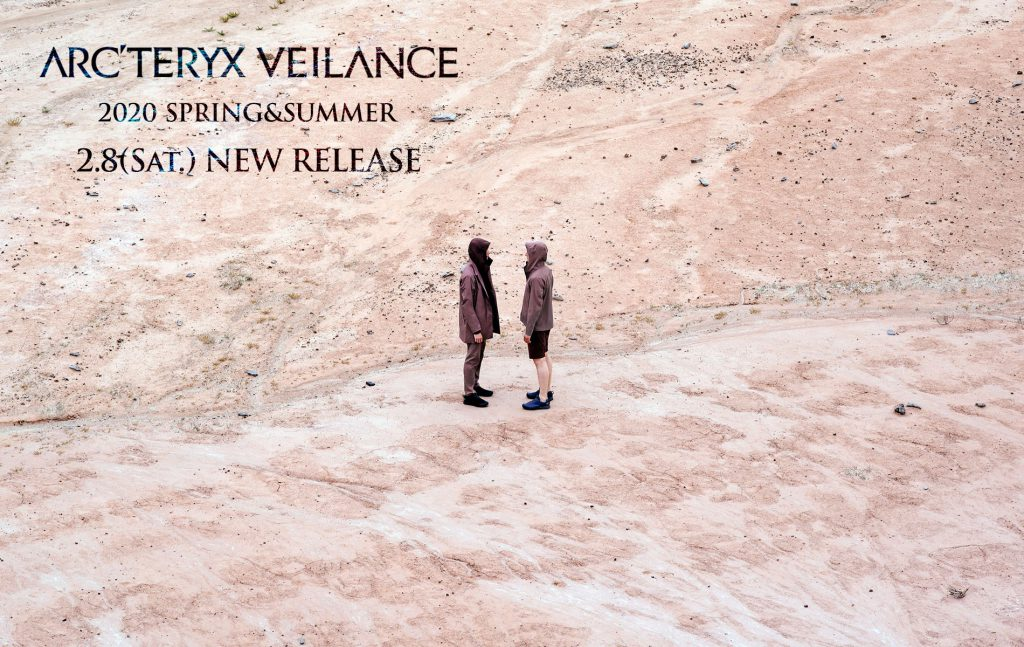 ARC'TERYX VEILANCE SPRING SUMMER 2020 2.8(SAT) START