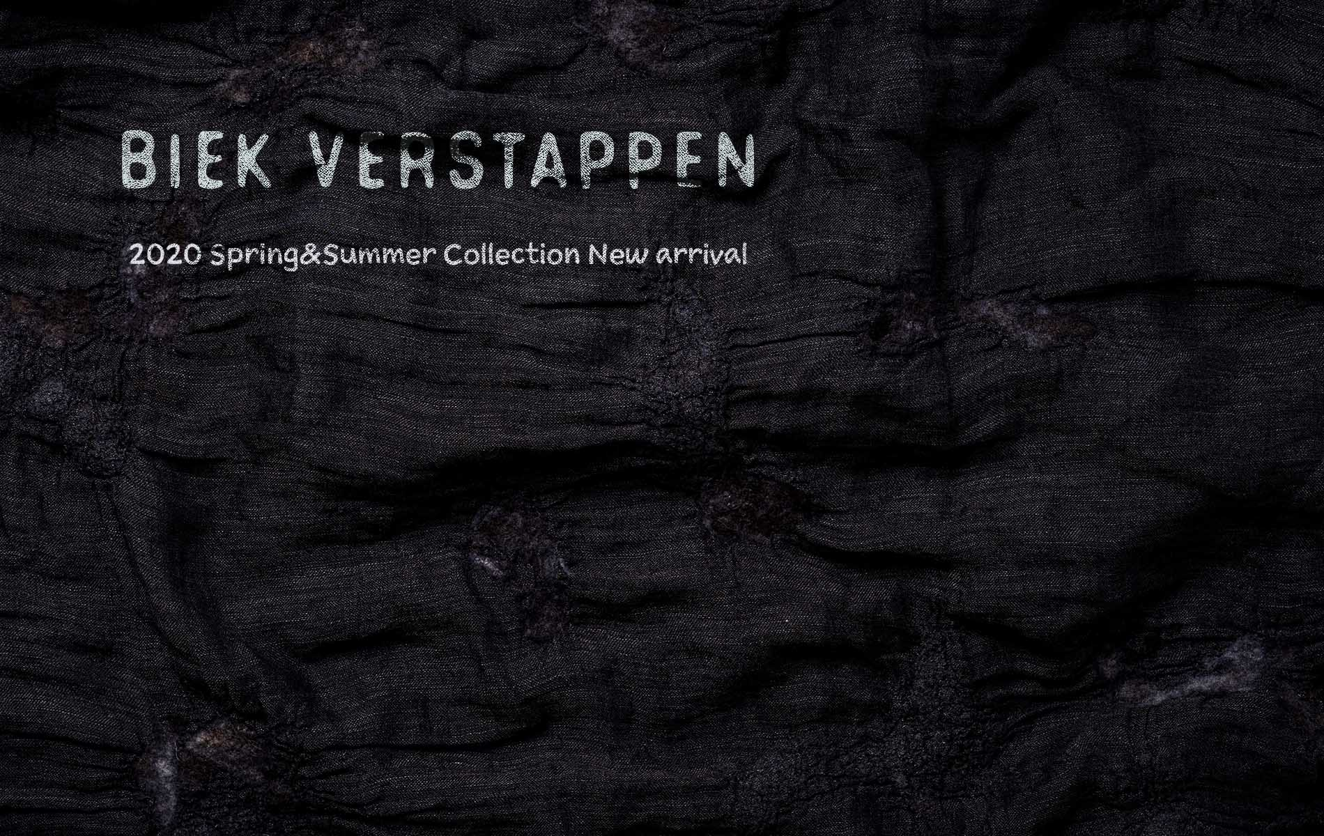 Biek Verstappen  2020SPRING&SUMMER Release Start