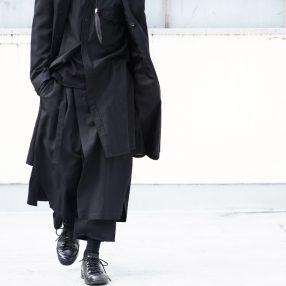 YOHJI YAMAMOTO 20SS Wrap Pants