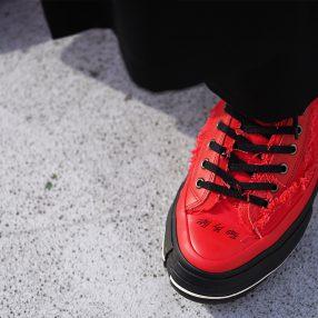 YOHJI YAMAMOTO × XVESSEL High & Low Sneaker RELEASE START !!!