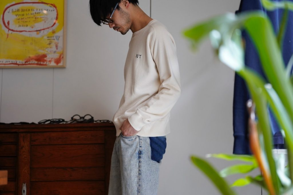 FEIT  Tubular Crewneck Sweat