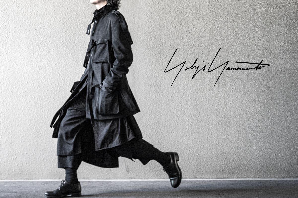 YOHJI YAMAMOTO Tape Arrange Jacket