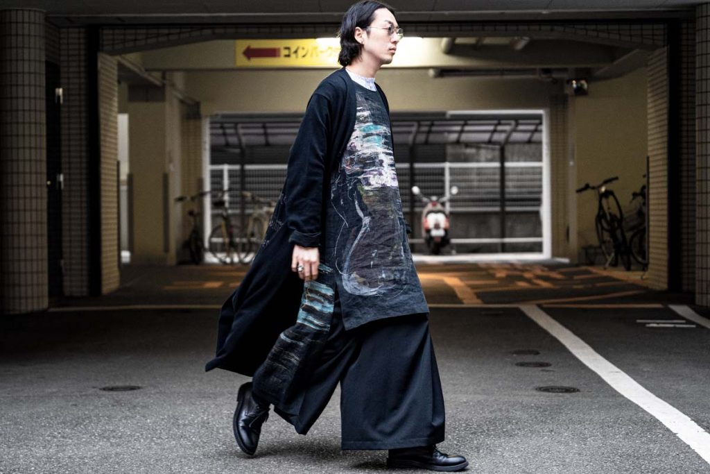 YOHJI YAMAMOTO Layered Linen Shirt