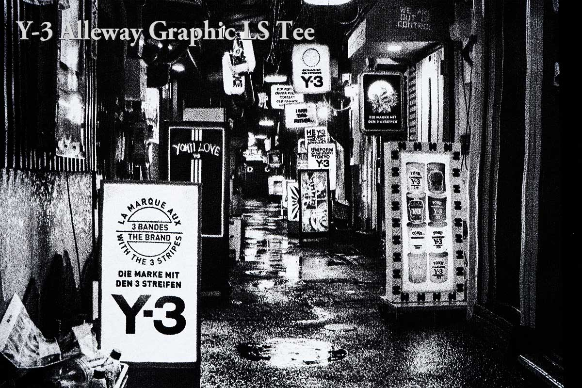 Y-3 Alleyway Graphic LS Tee