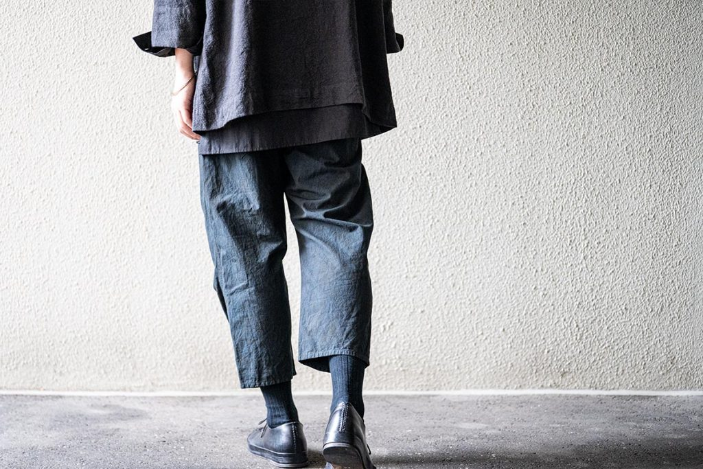 ARAKI YUU 20SS Curved Cropped Pants Special Edition