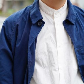 FEIT  Band Collar Long Shirt