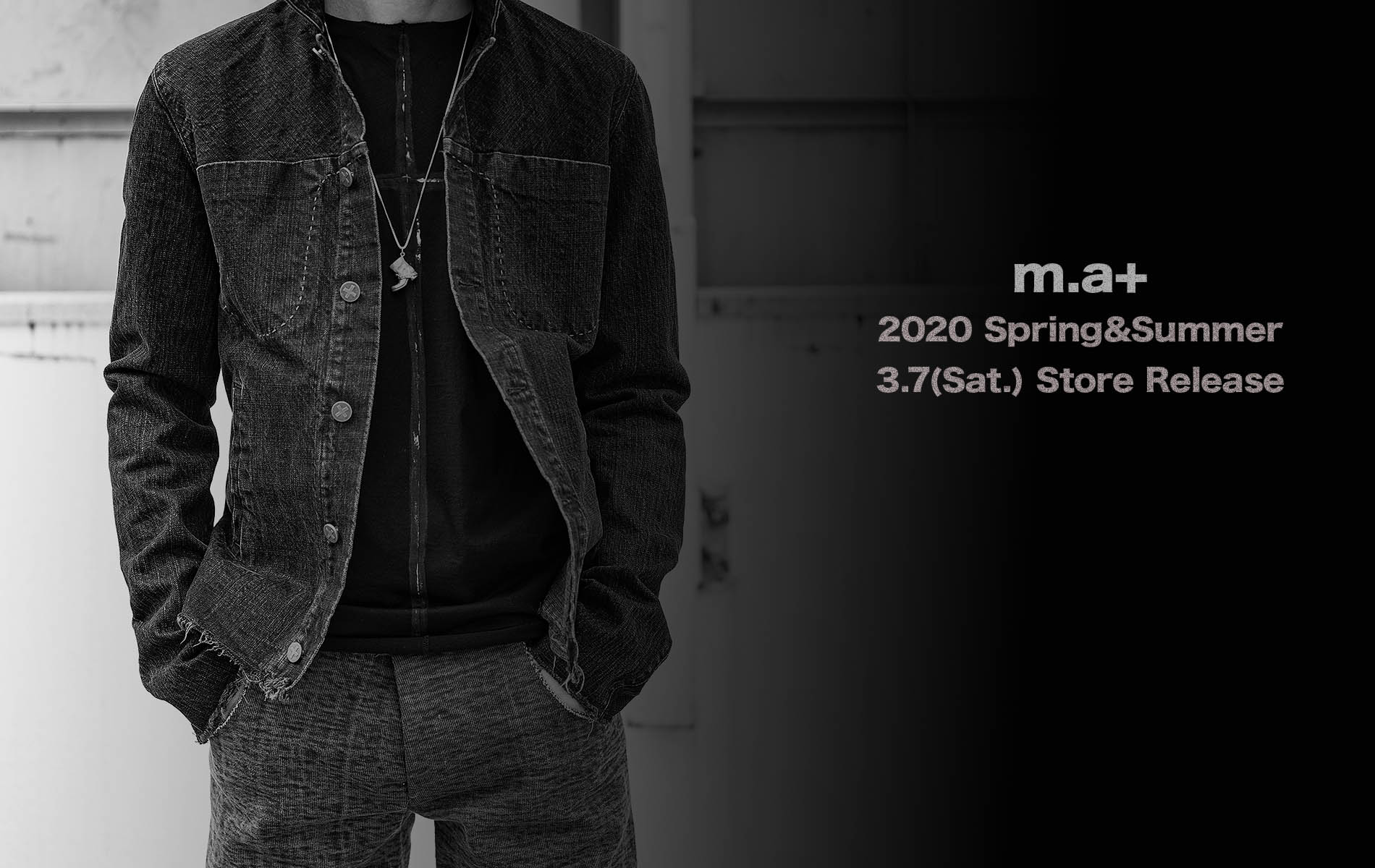 m.a+  spring&summer 2020 3.7 store release.