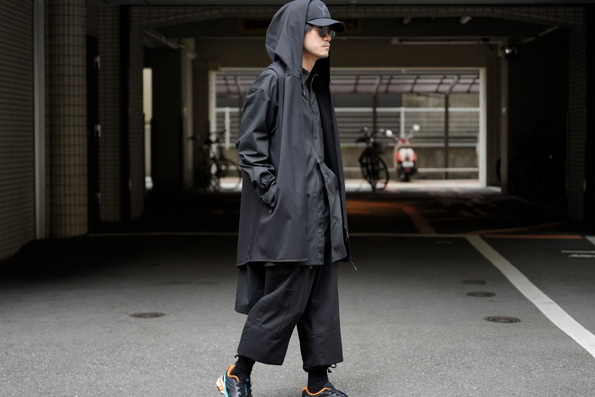 Y-3 20SS Craft 3STP Hooded Vest