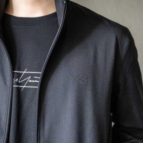 Y-3 20SS M Classic Refined Wool Stretch Track Jacket