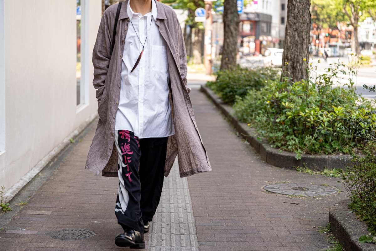 ARAKI YUU 20SS Sleepy Shirt