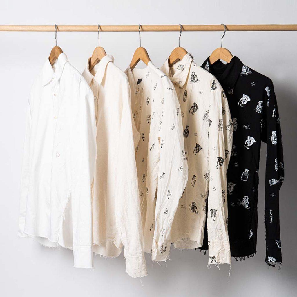 ELENA DAWSON  Shirt stock list