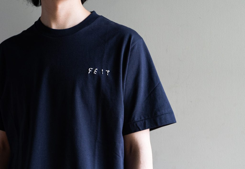 FEIT  Tubular Crewneck Sweat & Hand Sewn T-Shirt